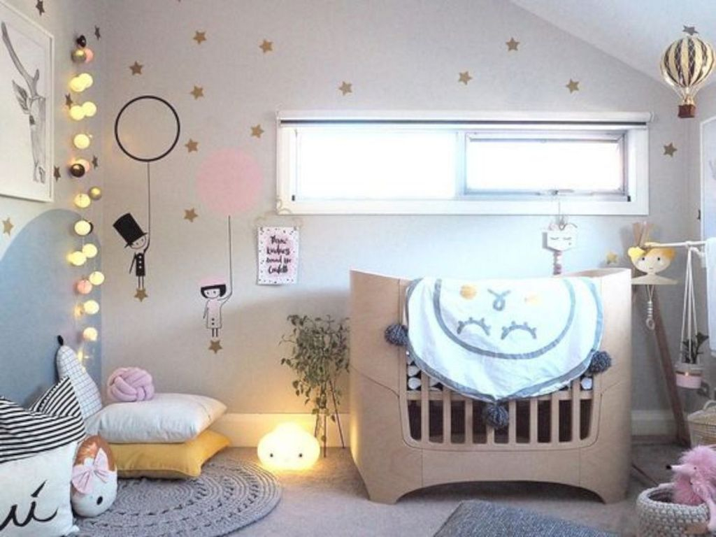 Cozy Scandinavian Kids Rooms Designs Ideas38