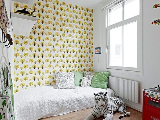 Cozy Scandinavian Kids Rooms Designs Ideas40