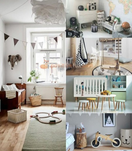 Cozy Scandinavian Kids Rooms Designs Ideas41