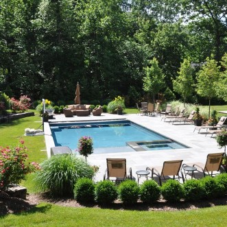 Cozy Swimming Pool Design Ideas For Your Home Backyard24