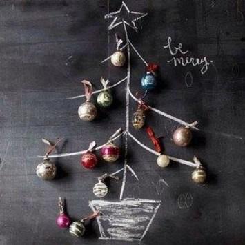 Diy Wall Christmas Tree Ideas09
