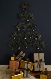Diy Wall Christmas Tree Ideas21