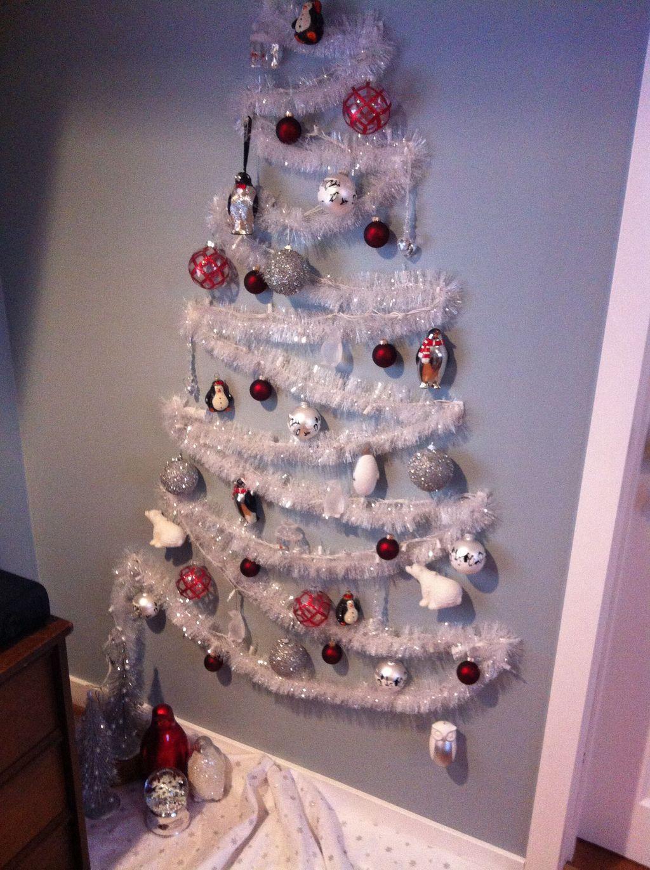 Diy Wall Christmas Tree Ideas23