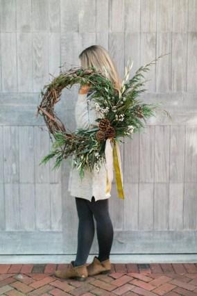 Inspiring Christmas Wreaths Ideas For All Types Of Décor10