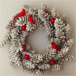 Inspiring Christmas Wreaths Ideas For All Types Of Décor12