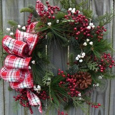 Inspiring Christmas Wreaths Ideas For All Types Of Décor24