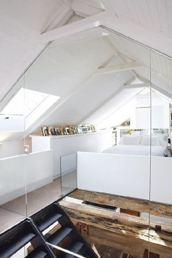 Modern Attic For Christmas32