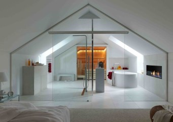 Modern Attic For Christmas41