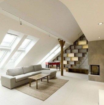 Modern Attic For Christmas42