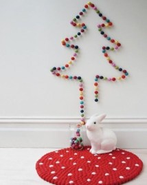 Modern Christmas Tree Alternatives Ideas03