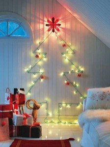 Modern Christmas Tree Alternatives Ideas14