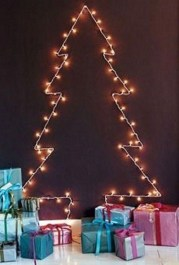 Modern Christmas Tree Alternatives Ideas19