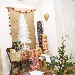 Modern Christmas Tree Alternatives Ideas22