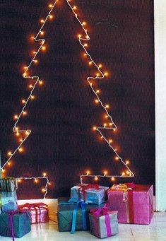 Modern Christmas Tree Alternatives Ideas34