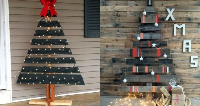 Modern Christmas Tree Alternatives Ideas42