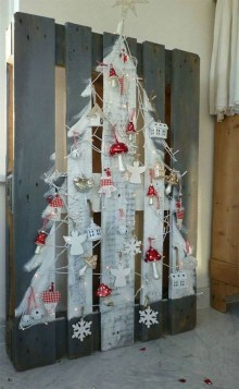 Modern Christmas Tree Alternatives Ideas44