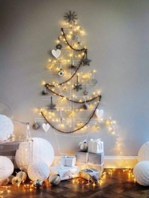 Modern Christmas Tree Alternatives Ideas47