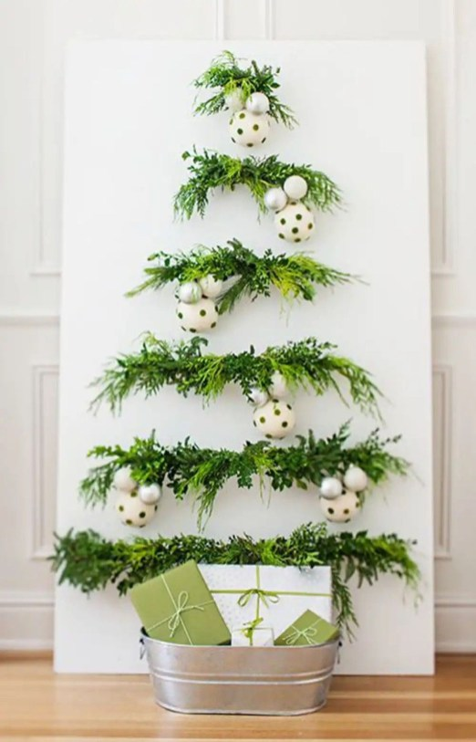 Modern Christmas Tree Alternatives Ideas50