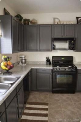 Modern Dark Grey Kitchen Design Ideas10