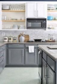 Modern Dark Grey Kitchen Design Ideas14