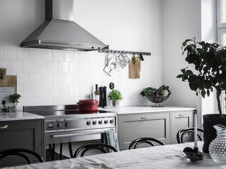 Modern Dark Grey Kitchen Design Ideas38