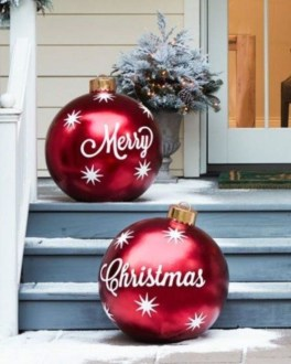 Outdoor Decoration For Christmas Ideas42