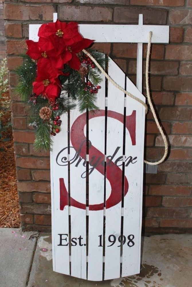 Outdoor Decoration For Christmas Ideas44