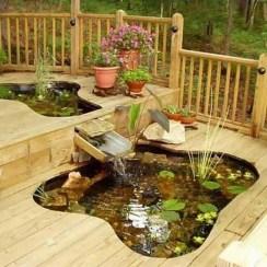 Popular Pond Garden Ideas For Beautiful Backyard02