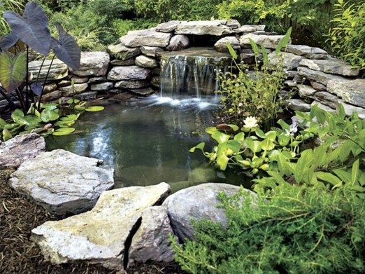 Popular Pond Garden Ideas For Beautiful Backyard16