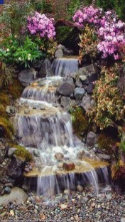 Popular Pond Garden Ideas For Beautiful Backyard32
