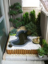 Popular Pond Garden Ideas For Beautiful Backyard36