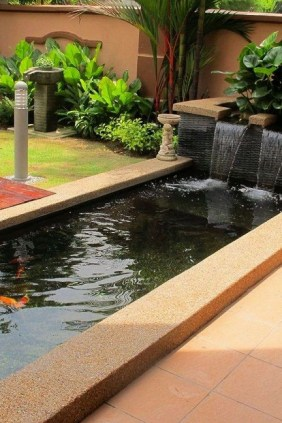 Popular Pond Garden Ideas For Beautiful Backyard45