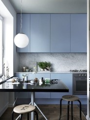 Relaxing Blue Kitchen Design Ideas For Fresh Kitchen Inspiration08