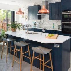 Relaxing Blue Kitchen Design Ideas For Fresh Kitchen Inspiration19