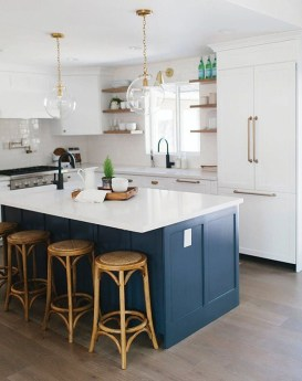Relaxing Blue Kitchen Design Ideas For Fresh Kitchen Inspiration30