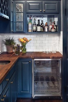 Relaxing Blue Kitchen Design Ideas For Fresh Kitchen Inspiration31