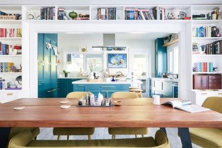 Relaxing Blue Kitchen Design Ideas For Fresh Kitchen Inspiration43