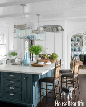 Relaxing Blue Kitchen Design Ideas For Fresh Kitchen Inspiration45