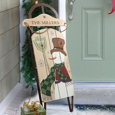 Unique Sleigh Decor Ideas For Christmas36