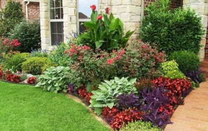 Amazing Grass Landscaping For Home Yard08