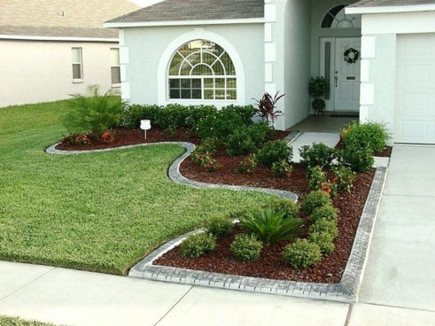 Amazing Grass Landscaping For Home Yard14