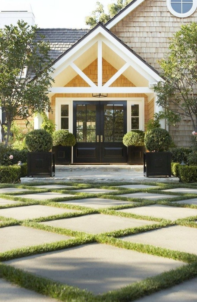 Amazing Grass Landscaping For Home Yard19