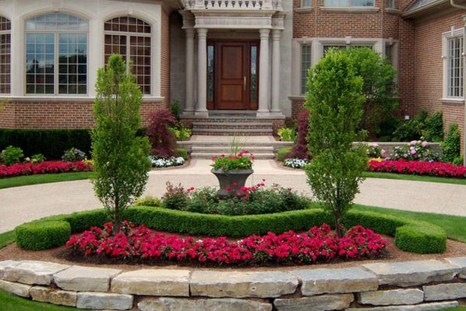 Amazing Grass Landscaping For Home Yard20