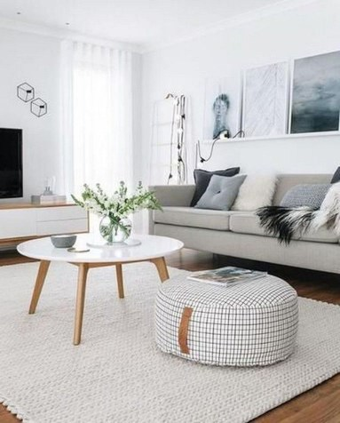 Amazing Scandinavian Livingroom Decorations Ideas04