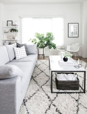 Amazing Scandinavian Livingroom Decorations Ideas12