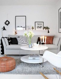 Amazing Scandinavian Livingroom Decorations Ideas15