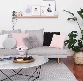 Amazing Scandinavian Livingroom Decorations Ideas19