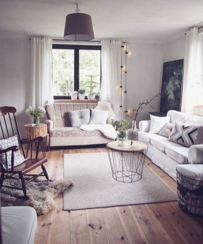 Amazing Scandinavian Livingroom Decorations Ideas32