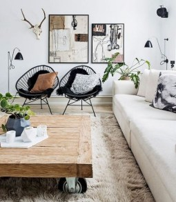 Amazing Scandinavian Livingroom Decorations Ideas41