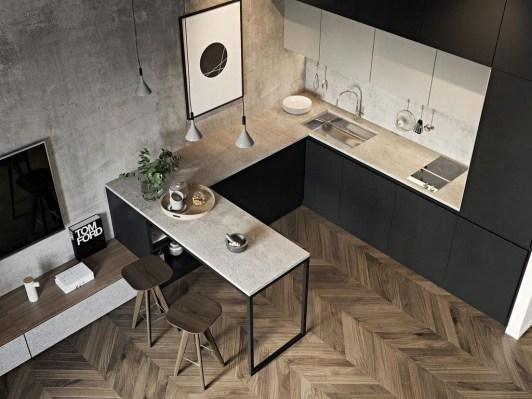 Amazing Small Apartment Kitchen Ideas17